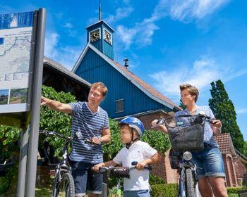 Radeln an der tiefsten Stelle Deutschlands